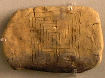Ο λαβύρινθος της Πύλου. Εθνικό Αρχαιολογικό Μουσείο, Αθήνα.