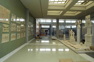 Εκθέματα του Μουσείου Μαρμαροτεχνίας