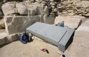 Βρέθηκε η «ακέφαλη πυραμίδα» της Αιγύπτου