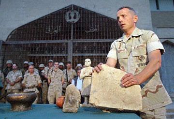 Eπιστροφή αρχαιοτήτων από τις ΗΠΑ στο Ιράκ