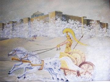 Αναζητώντας το παλάτι του Αχιλλέα στα Φάρσαλα