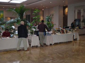 Στιγμιότυπο από την υποδοχή των συνέδρων