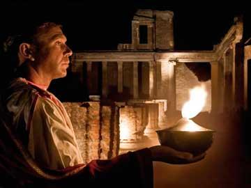 Βραδιές στην Πομπηία