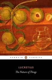 Το εξώφυλλο της αγγλικής μετάφρασης του Λουκρήτιου, Τhe Nature of Things