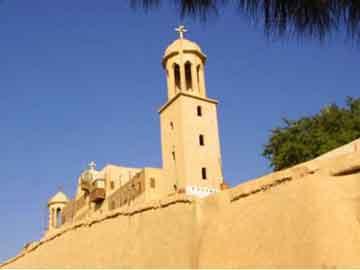 Το μοναστήρι Ντέιρ αλ Σούριαν της Αιγύπτου, όπου εντοπίστηκε η χαμένη σελίδα