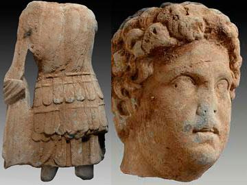 Ρωμαϊκά γλυπτά εντοπίσθηκαν στην Κύθνο