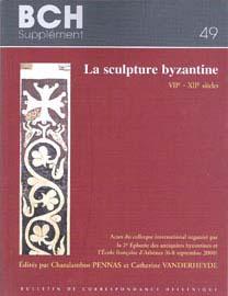 Charalambos Pennas, Catherine Vanderheyde (επιμ.), La Sculpture Byzantine, VIIe-XIIe siècles, 2008