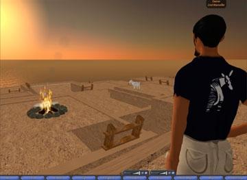 Διαδραστική εκπαίδευση σε εικονικό τοπίο
