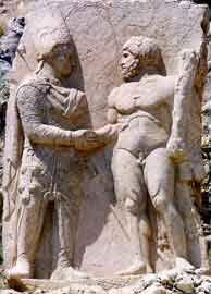Ο Μιθριδάτης χαιρετά τον Ηρακλή