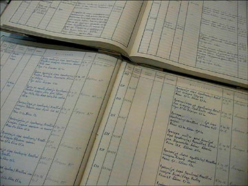 Τα χειρόγραφα Γενικά Ευρετήρια των συλλογών του Μουσείου Μπενάκη.