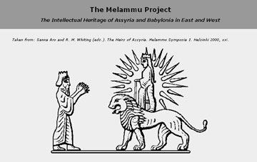 The Melammu Project – The Assyrian and Babylonian Intellectual Heritage