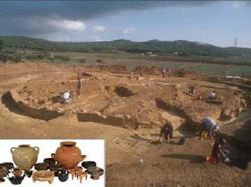 Ανασκαφή της Marsiliana d'Albegna