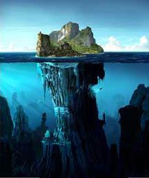 Μια εκδοχή της Ατλαντίδας που διακρίθηκε σε διαγωνισμό για εξώφυλλο του περιοδικού