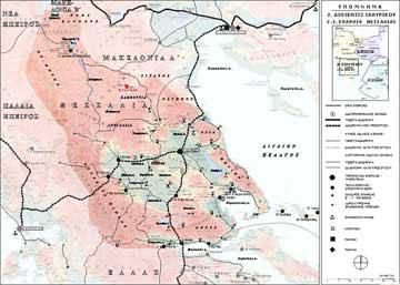Κύριο και δευτερεύον δίκτυο οικισμών της Επαρχίας Θεσσαλίας κατά την πρώιμη βυζαντινή περίοδο (4ος-6ος αι.)