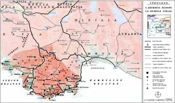 Κύριο και δευτερεύον δίκτυο οικισμών της Επαρχίας Λυκίας κατά την πρώιμη βυζαντινή περίοδο (4ος-6ος αι.).