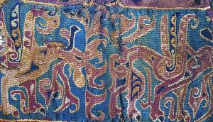 Τμήμα από τις αναξυρίδες ενός νομάδα της κεντρικής Ασίας, 3ος-1ος αι. π.Χ.