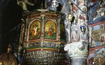 Μονή Πανορμίτη (ξυλογλυπτική).