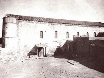 Η μονή στις αρχές του 20ου αιώνα.