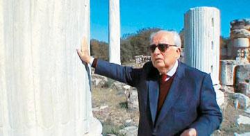 Ο Κύπριος καθηγητής Αρχαιολογίας και διευθυντής του Ιδρύματος Λεβέντη, Βάσος Καραγιώργης.