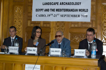 Η επιτροπή του Διεθνούς Συνεδρίου Γεωαρχαιολογίας.