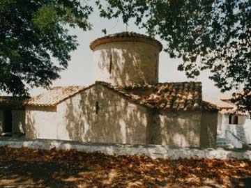 Μονή Αγίας Τριάδος. Καθολικό (νότια πλευρά).