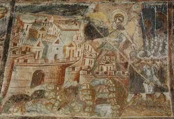 Ναός Ταξιαρχών. Ο Άγγελος φονεύει 185.000 Ασσυρίους.