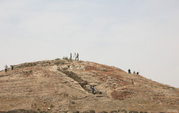 Από τις ανασκαφές του Πανεπιστημίου Ιωαννίνων στην Ιορδανία.