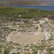 Επιχείρηση σωτηρίας του αρχαίου θεάτρου Δήλου