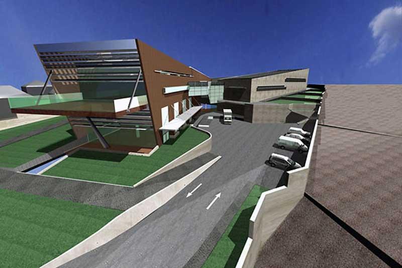 Αυτή τη μορφή θα έχει το νέο Αρχαιολογικό Μουσείο Χανίων.