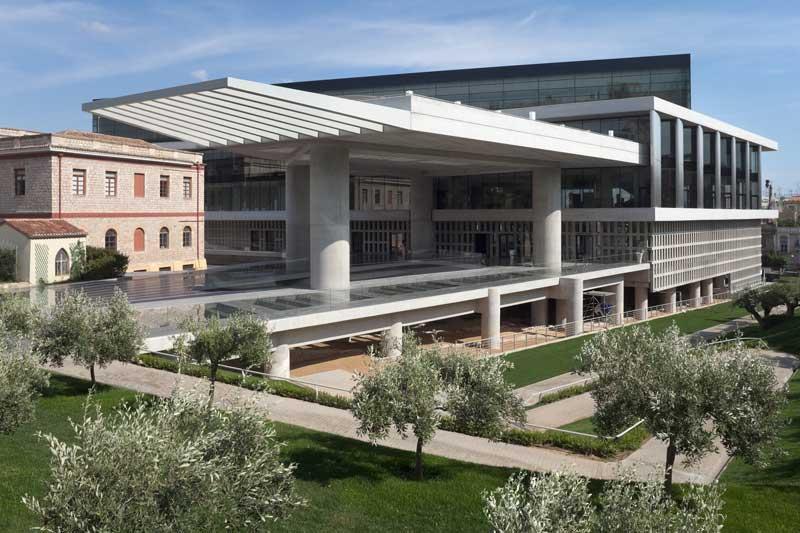 Το Μουσείο Ακρόπολης.