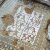 Αρχαία ψηφιδωτά στα λουτρά της «Αράπισσας» στη Σπάρτη