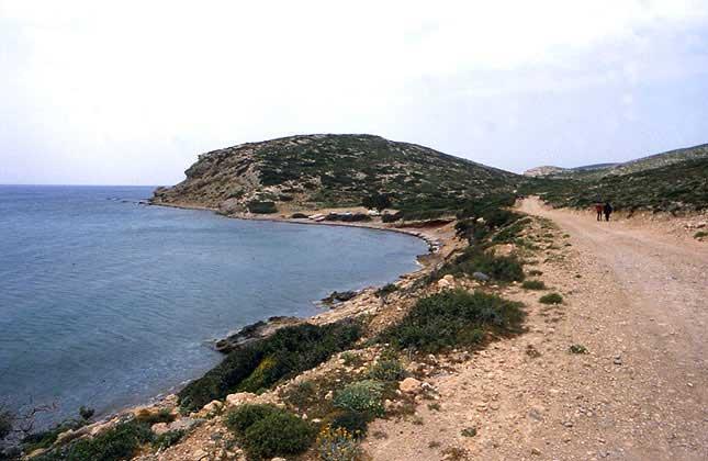 Άποψη του λόφου της Βρουλιάς.