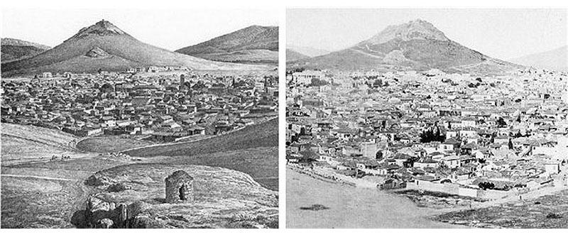 Ή Αθήνα μέσα από χάρτες του παρελθόντος.