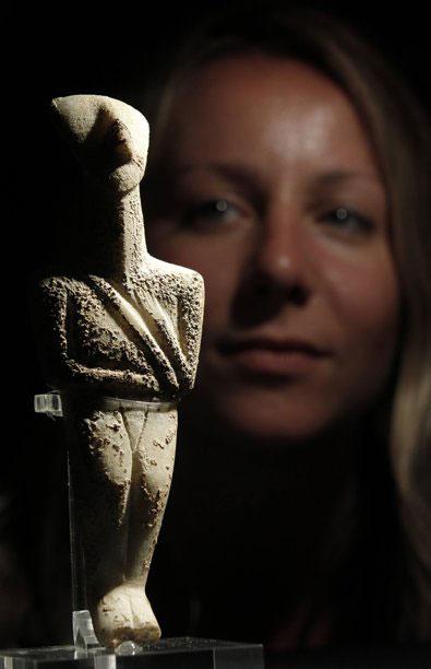 Ο κυνηγός πολεμιστής, το κυκλαδικό ειδώλιο που απέκτησε πρόσφατα το Βρετανικό Μουσείο.