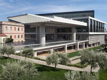 Το Νέο Μουσείο της Ακρόπολης. © Μουσείο Ακρόπολης.