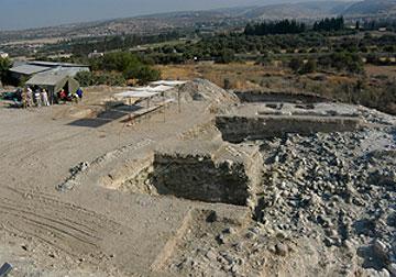 Από τις ανασκαφές της θέσης Επισκοπή-Παμπούλα.