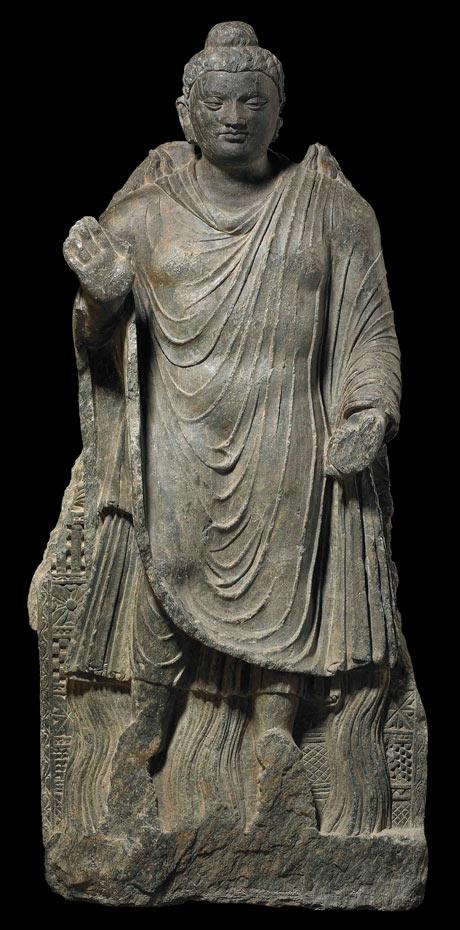 Ο Βούδας από το Αφγανιστάν που θα εκτεθεί στο Βρετανικό Μουσείο.