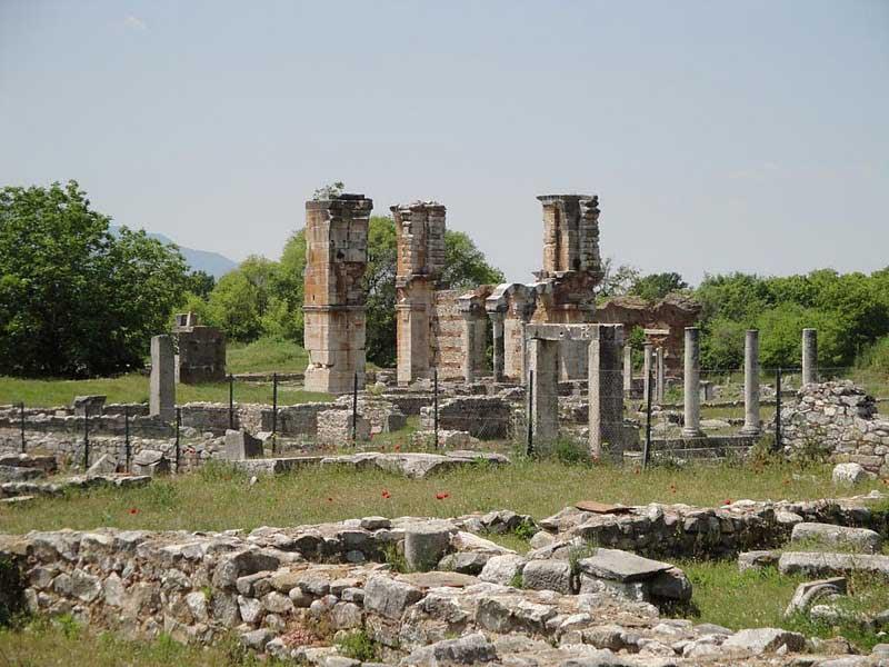 Αρχαιολογικός χώρος Φιλίππων.