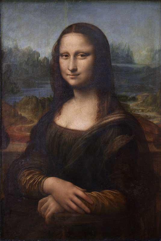 Η Μόνα Λίζα, έργο του Λεονάρντο Ντα Βίντσι.