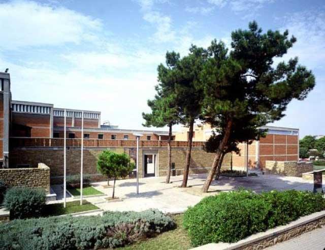 Άποψη του Μουσείου Βυζαντινού Πολιτισμού, στη Θεσσαλονίκη.