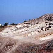 Ολοκληρώθηκαν για το 2011 οι ανασκαφές στο θέατρο της Νέας Πάφου