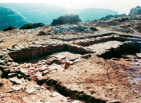 Άποψη του αρχαιολογικού χώρου του Στρόφιλα.