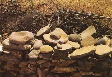 Λίθινα εργαλεία από τον Αετό στα Κοντίσια Άγρας.