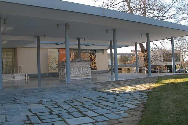 Το Αρχαιολογικό Μουσείο Θεσσαλονίκης.