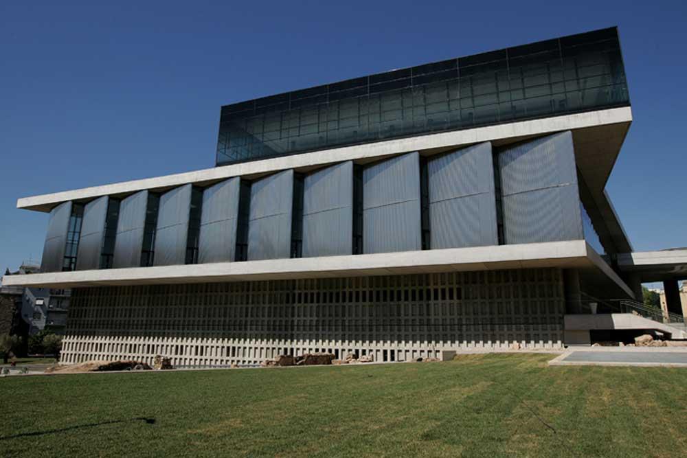 Το Νέο Μουσείο της Ακρόπολης.