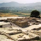 Η Φαιστός και η Αγία Τριάδα κατά την Προανακτορική περίοδο