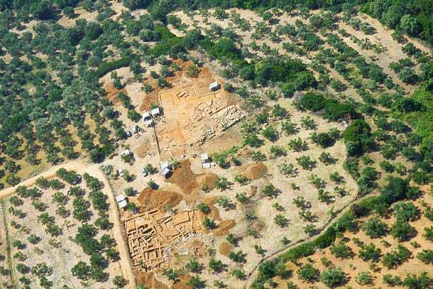 Η ανασκαφή της μυκηναϊκής Ίκλαινας στη Μεσσηνία.