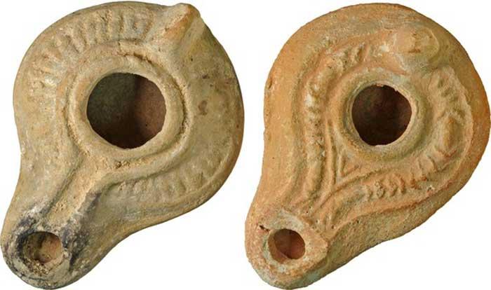 Αρχαία λυχνάρια θα συμπεριληφθούν στα εκθέματα.