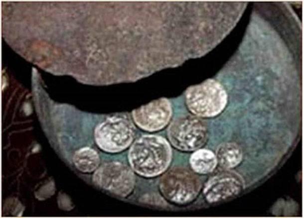 Θησαυρός νομισμάτων από τα Άβδηρα.