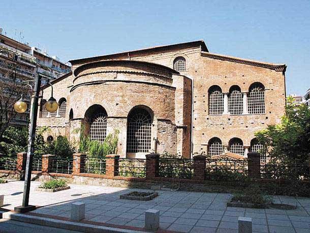Η Αχειροποίητος στη Θεσσαλονίκη.